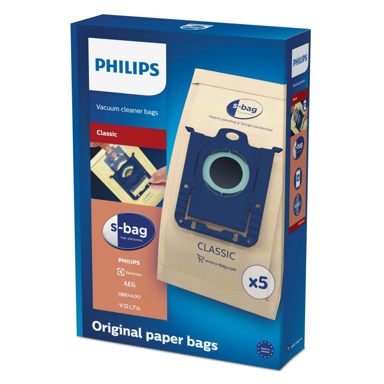 Pirkite s-bag Dulkių siurblių maišelius FC8019/01 elektroninėje   Philips parduotuvėje