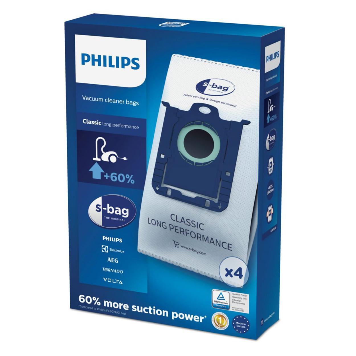 Pirkite s-bag Dulkių siurblių maišelius FC8021/03 elektroninėje | Philips parduotuvėje