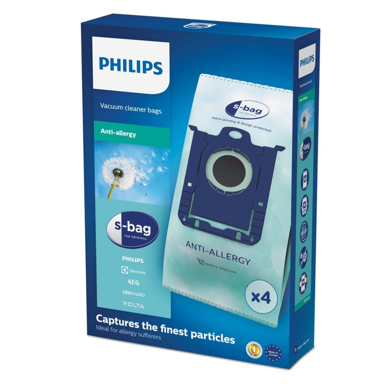 Pirkite s-bag Dulkių siurblių maišelius FC8022/04 elektroninėje | Philips parduotuvėje