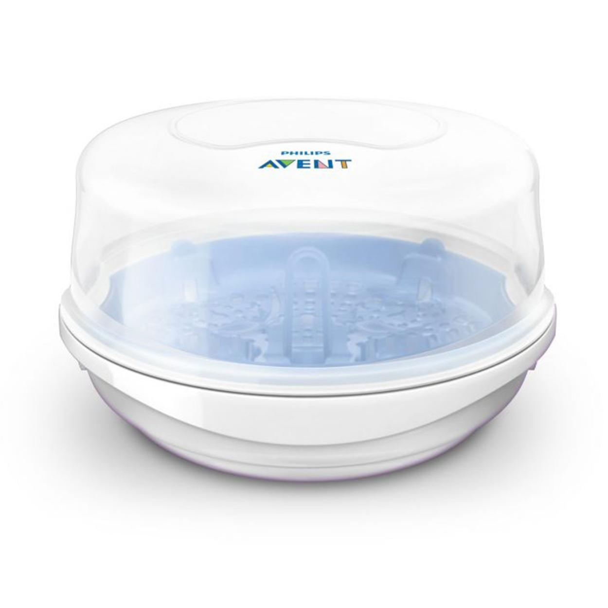 Pirkite Philips Avent Mikrobangų krosnelės garų sterilizatorių SCF281/02 elektroninėje | Philips parduotuvėje