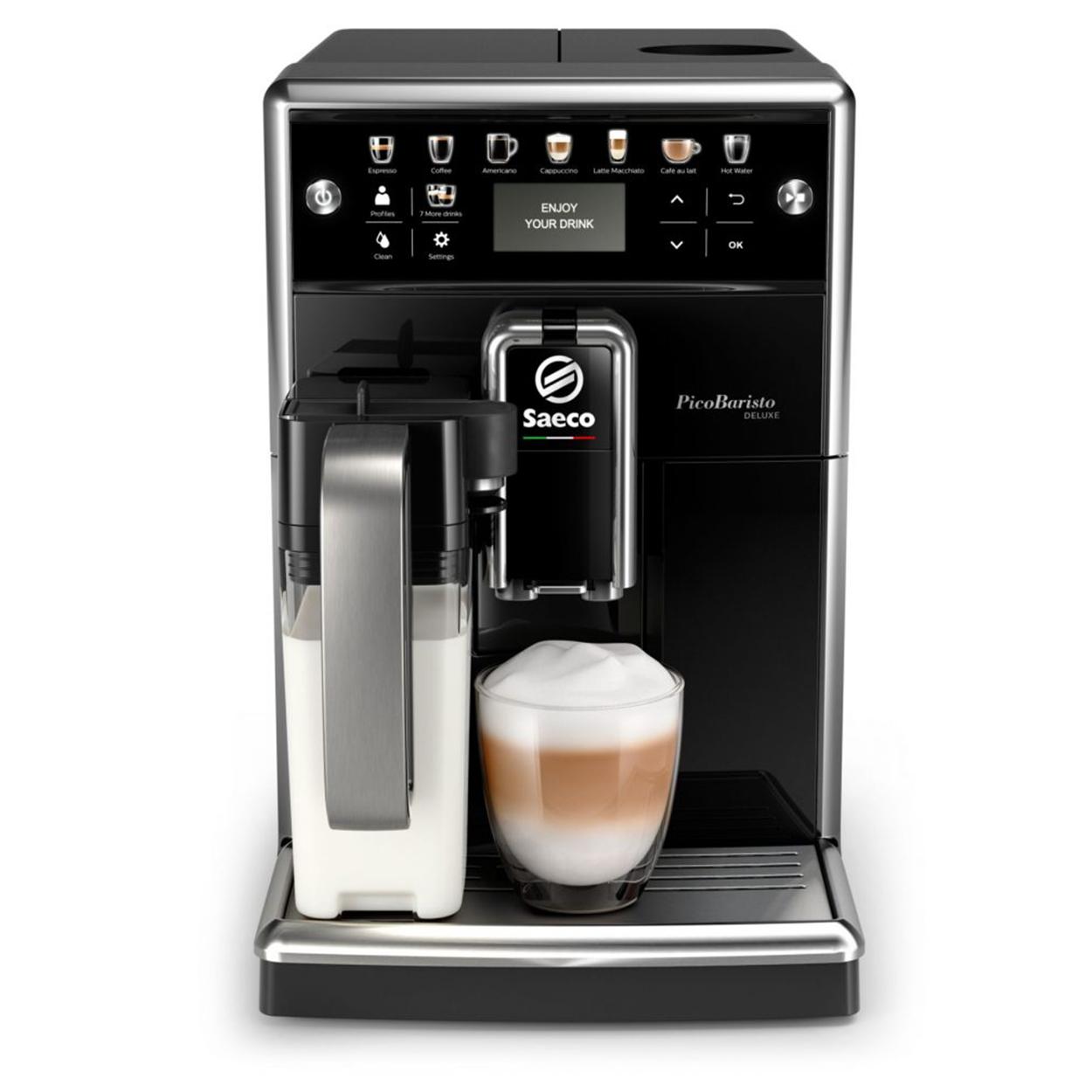 Pirkite Saeco PicoBaristo Deluxe Puikų automatinį espreso aparatą SM5570/10 elektroninėje   Philips parduotuvėje