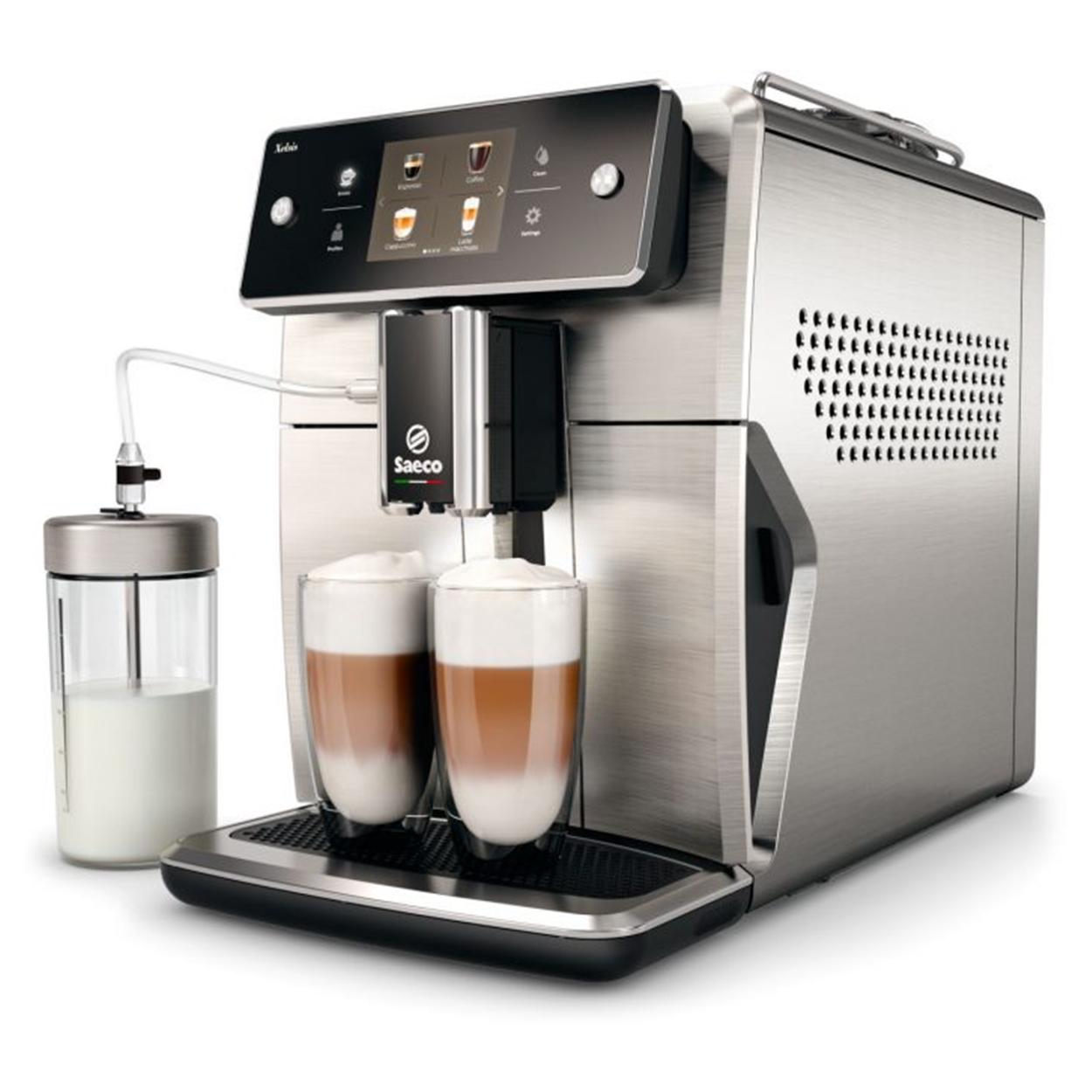 Pirkite Saeco Xelsis Puikų automatinį espreso aparatą SM7685/00 elektroninėje   Philips parduotuvėje