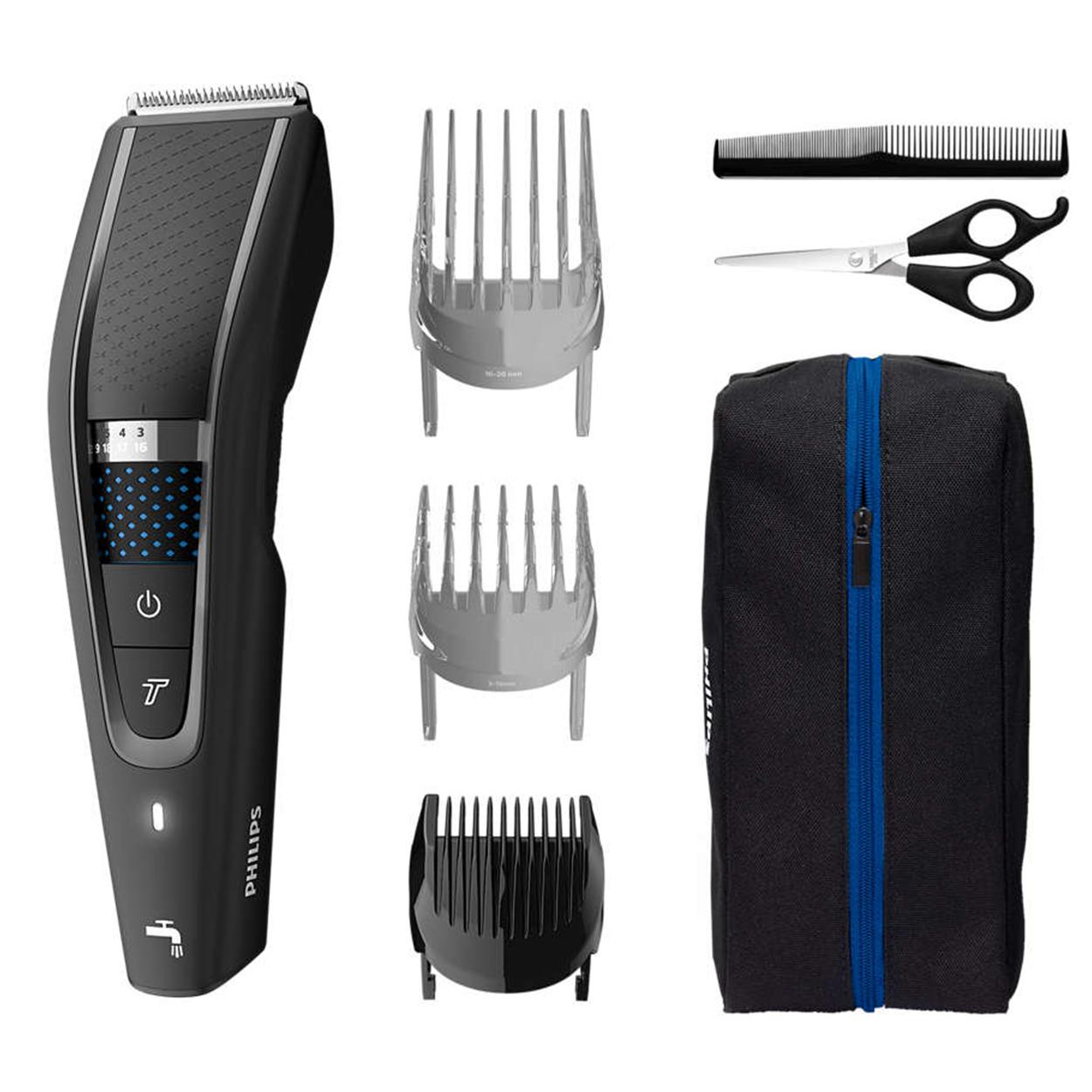 Pirkite Hairclipper series 5000 Plaunama plaukų kirpimo mašinėlę HC5632/15 elektroninėje | Philips parduotuvėje